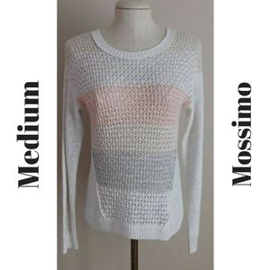 Medium Striped Open Knit Sweater from Mossimo!